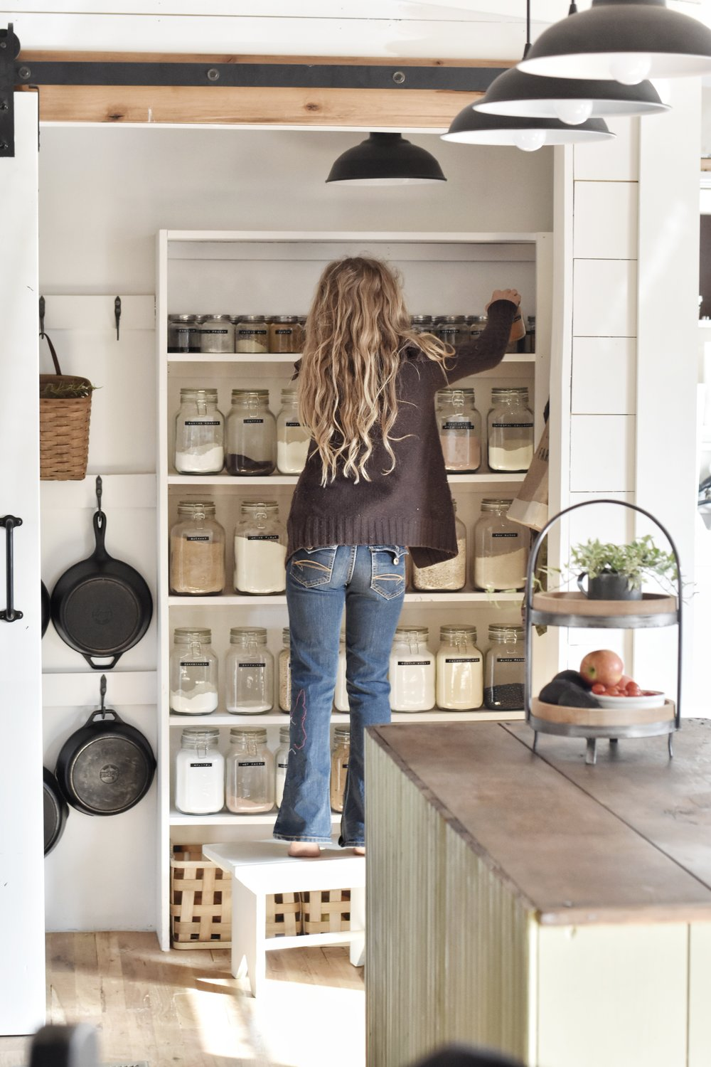 Flat Creek Farmhouse - Pantry Essentials for a Well Stocked Pantry