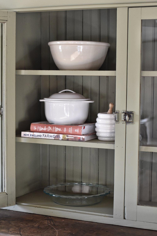 Farmhouse Style Cabinet Makeover www.flatcreekfarmhouse.com