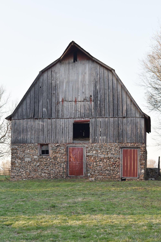Rural American Barn www.flatcreekfarmhouse.com