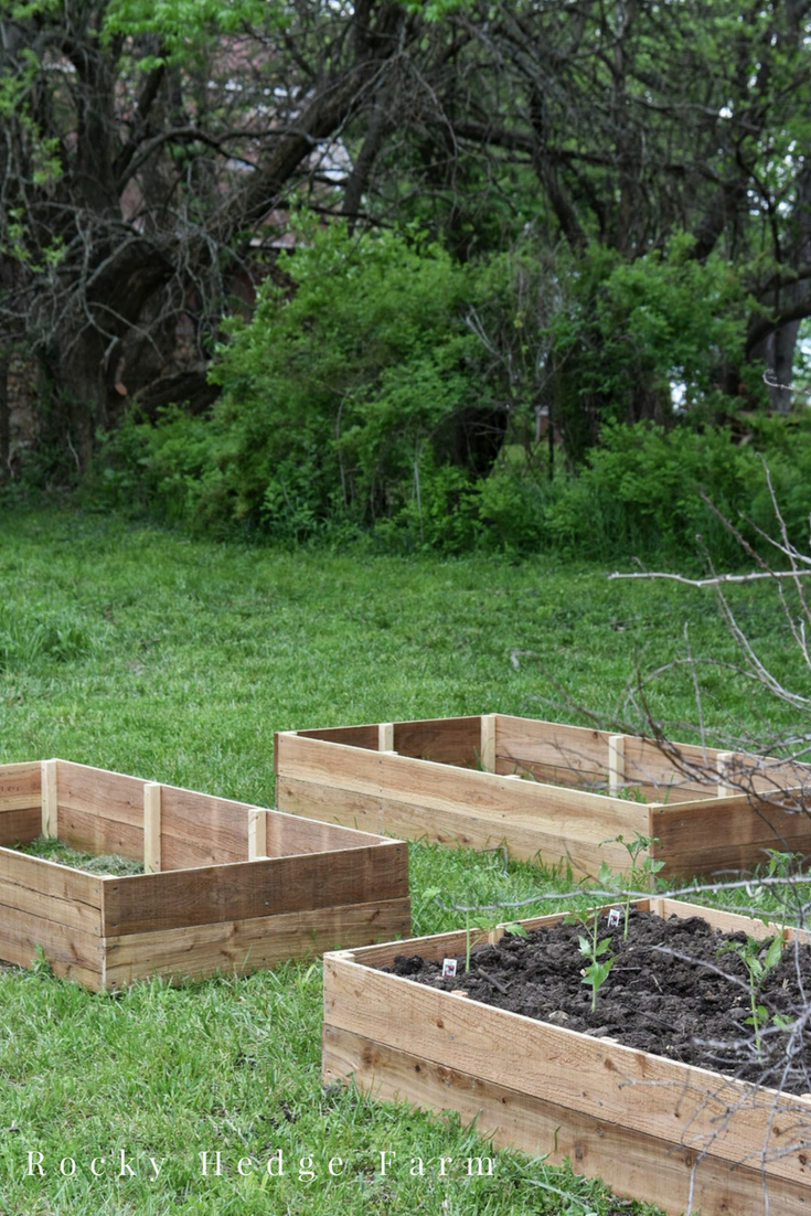 How to Build Chemical Free Garden Vegetable Beds
