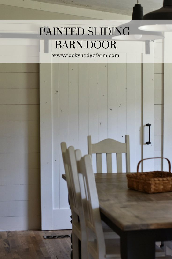 Farmhouse Pantry Sliding Barn Door