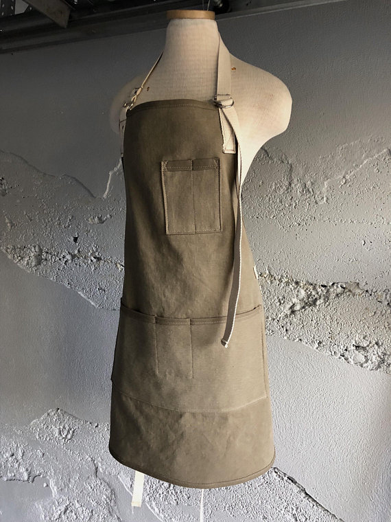Farmhouse apron from Old Soul Bags #farmhouseapron #apron