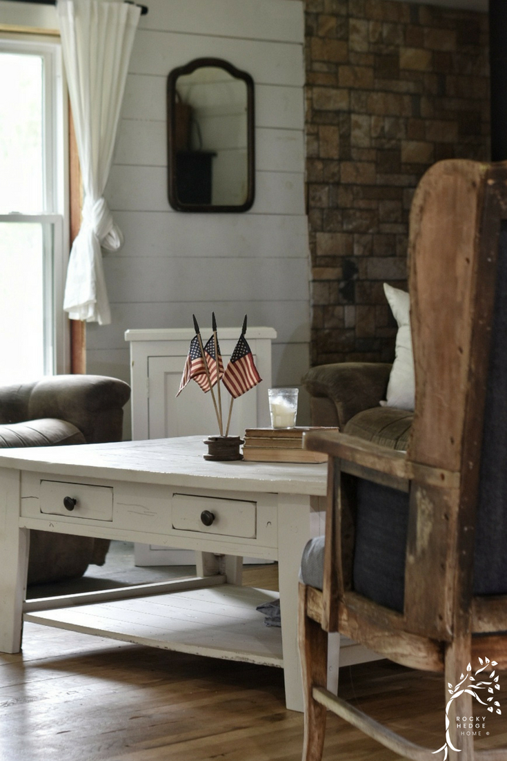 American Farmhouse Decor for the Fourth of July