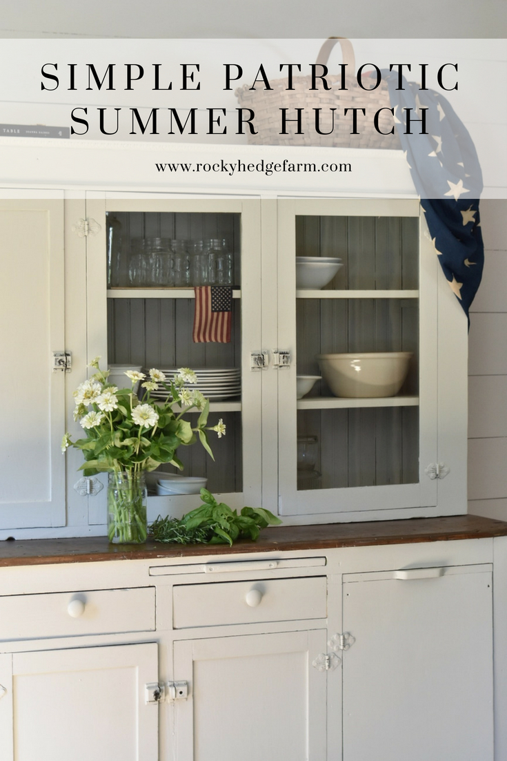Simple Summer Farmhouse Decorating for Independence Day