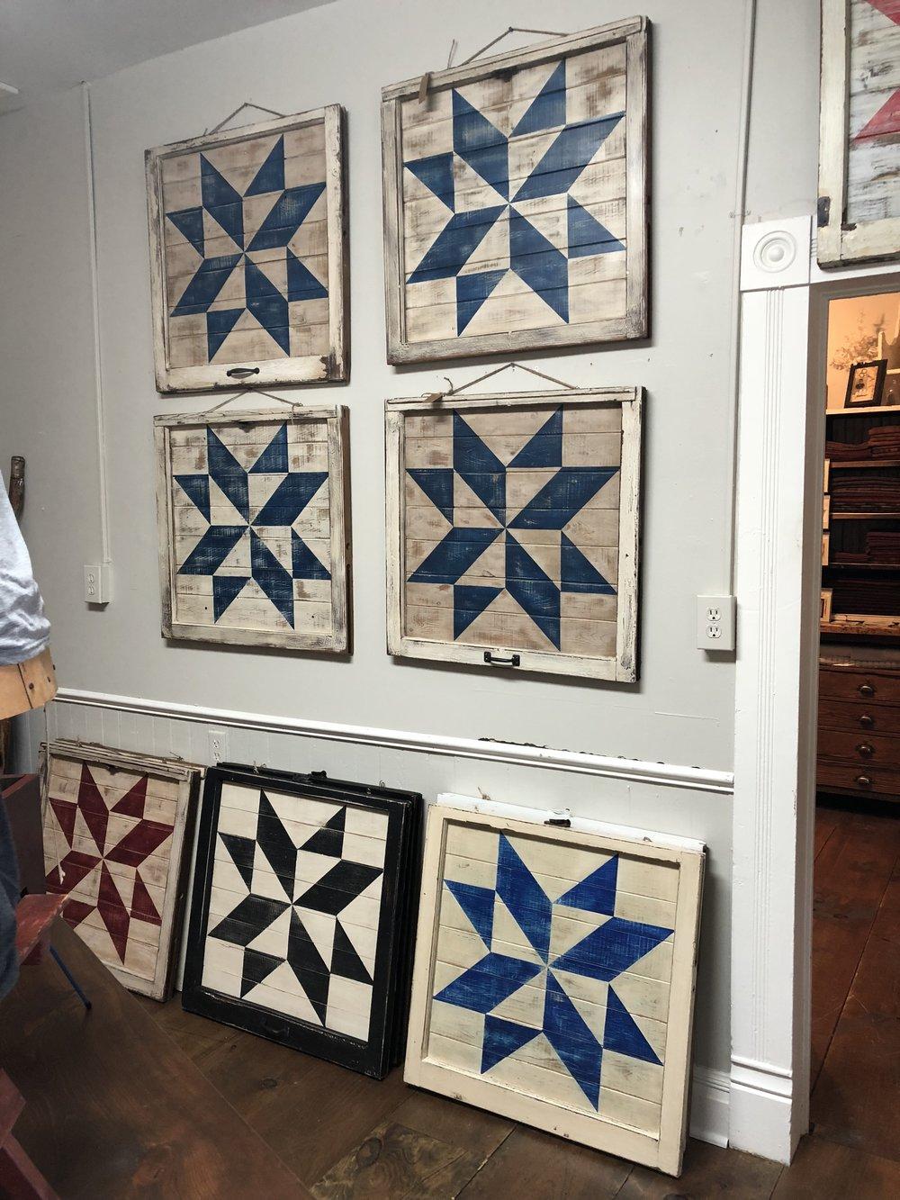Quitled Wooden Blocks