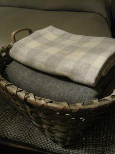 Cozy Fall Throw Wool Blanket