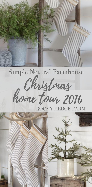 Simple Neutral Farmhouse Christmas Home Tour Bloggers Chrismas Tour.png