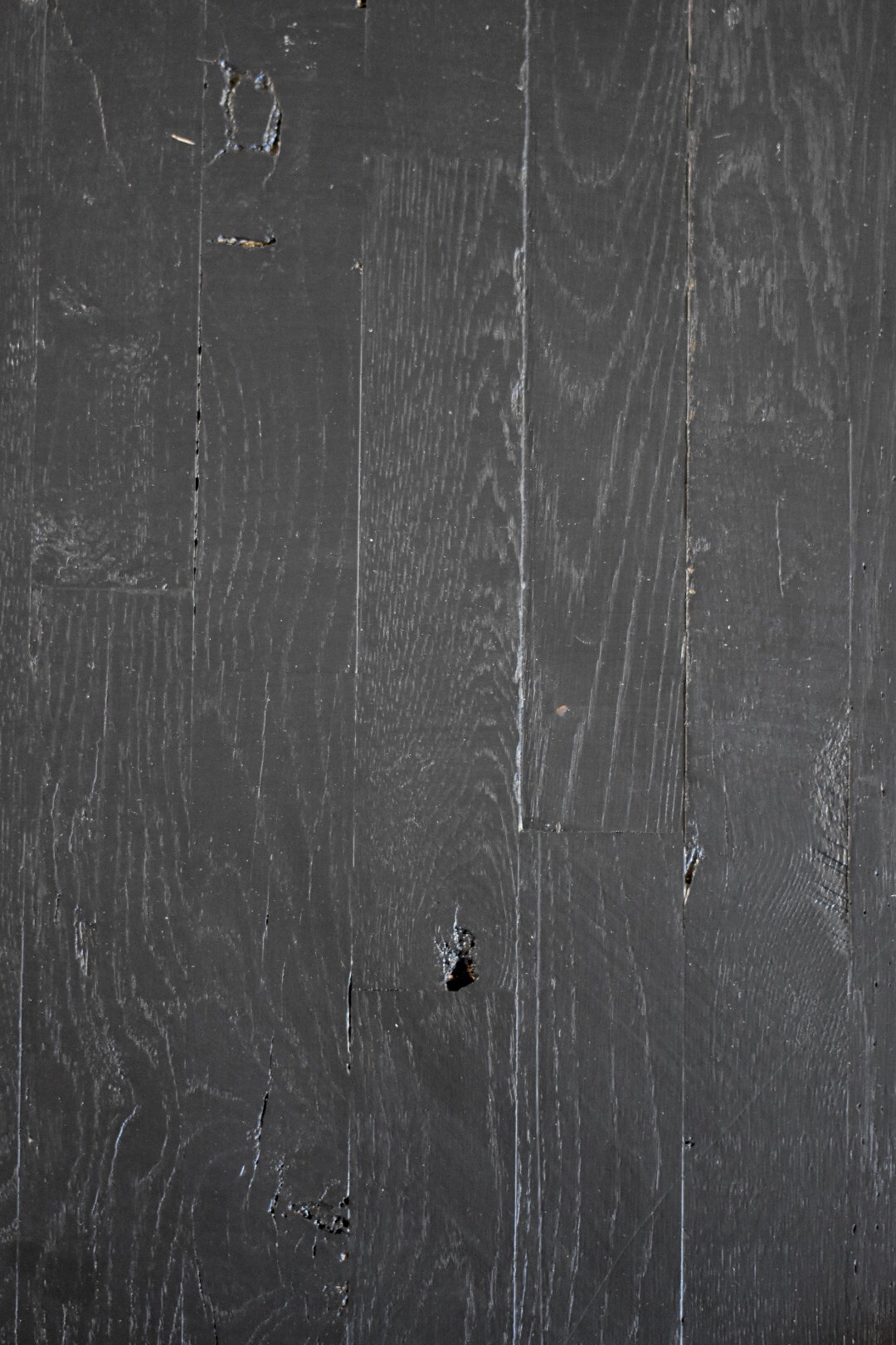 Black Painted Hardwood Floors Rocky Hedge Farm Simple Living