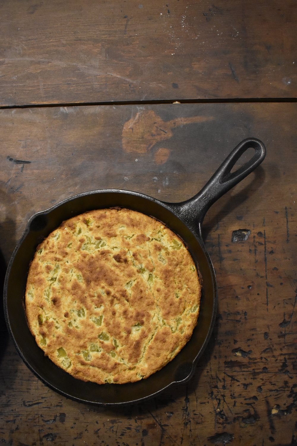 Low Carb Cast Iron Skillet Cornbread - Sweet Southern Style.jpeg
