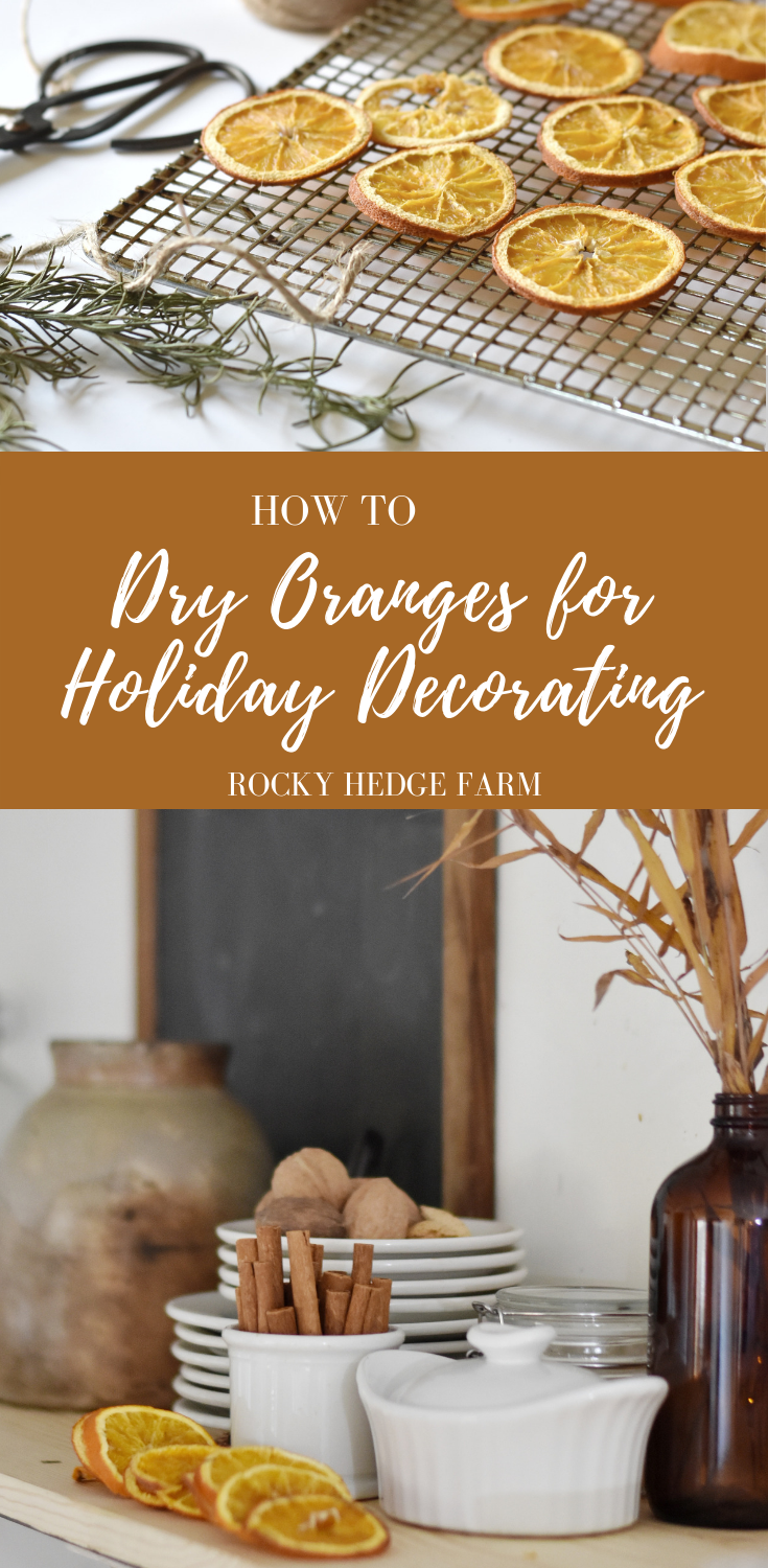 How to Dry Oranges for Holiday Decorating