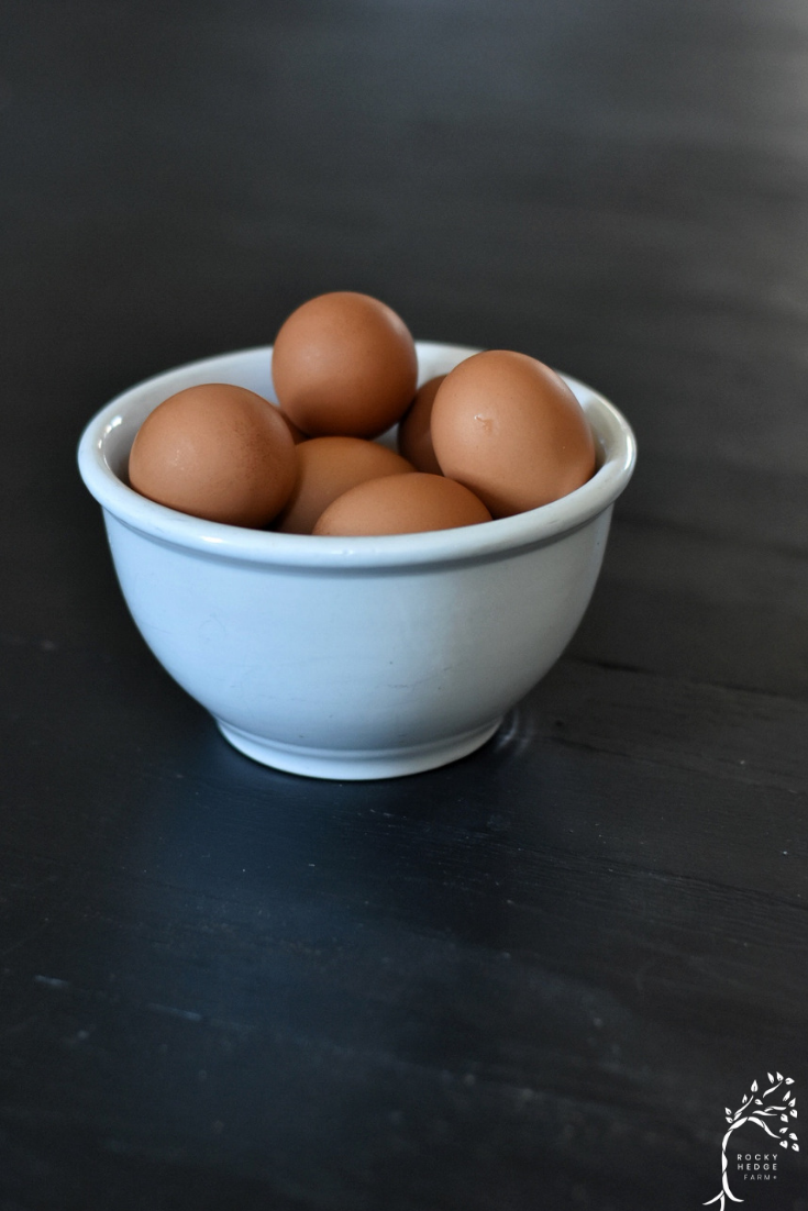 Quickly and easily peel farm fresh hard boiled eggs