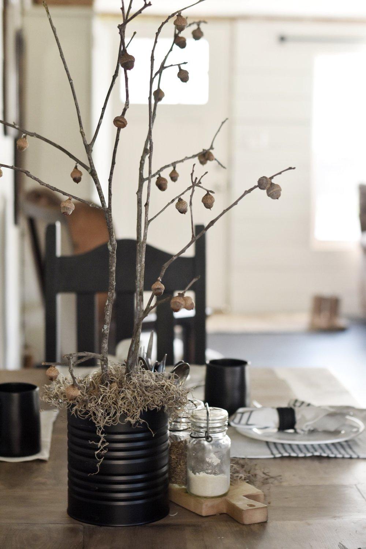 Rocky Hedge Farm - Nature Inspired Simple Farmhouse Table Setting