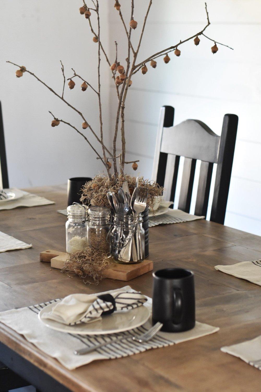 Rocky Hedge Farm - Fall Farmhouse Tablescape