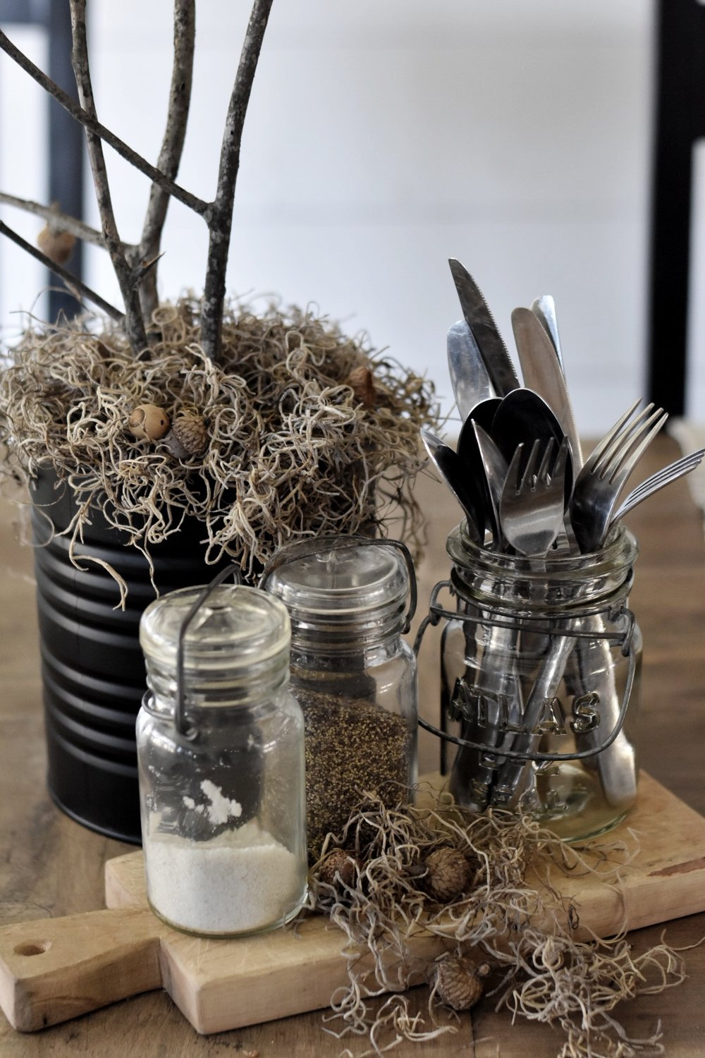 Rocky Hedge Farm - Rustic Nature Inspired Fall Centerpiece