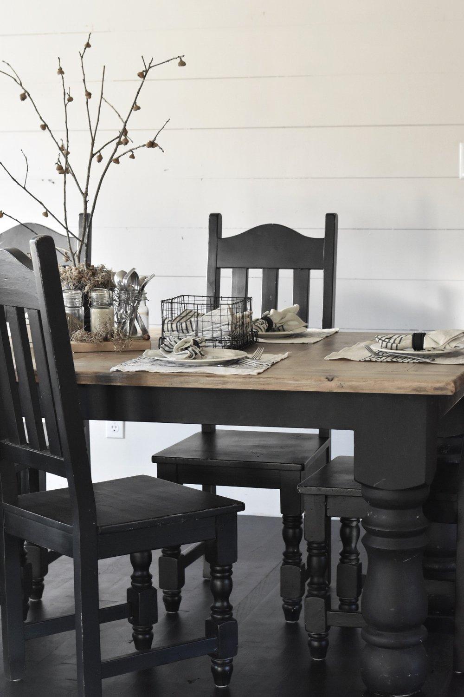 Rocky Hedge Farm - Fall Farmhouse Table Setting