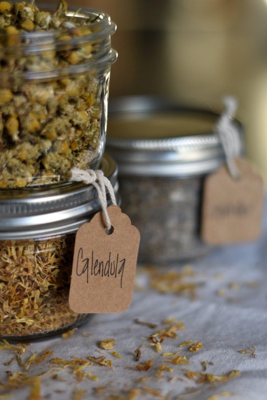 DIY Mason Jar Spice and Herb Organization Labels | Rocky Hedge Farm