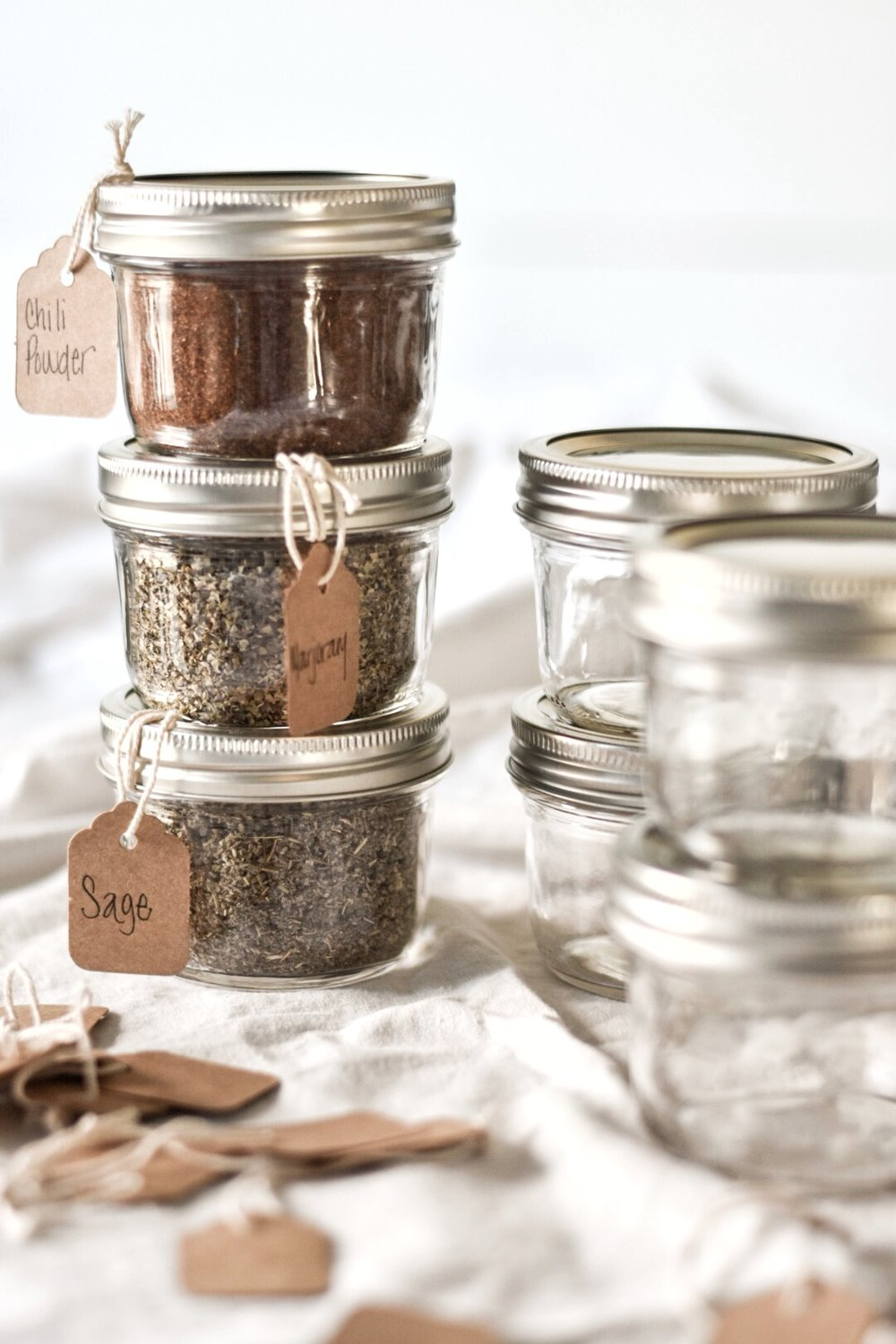 Mason jar Spice Storage and Organization Ideas.jpg