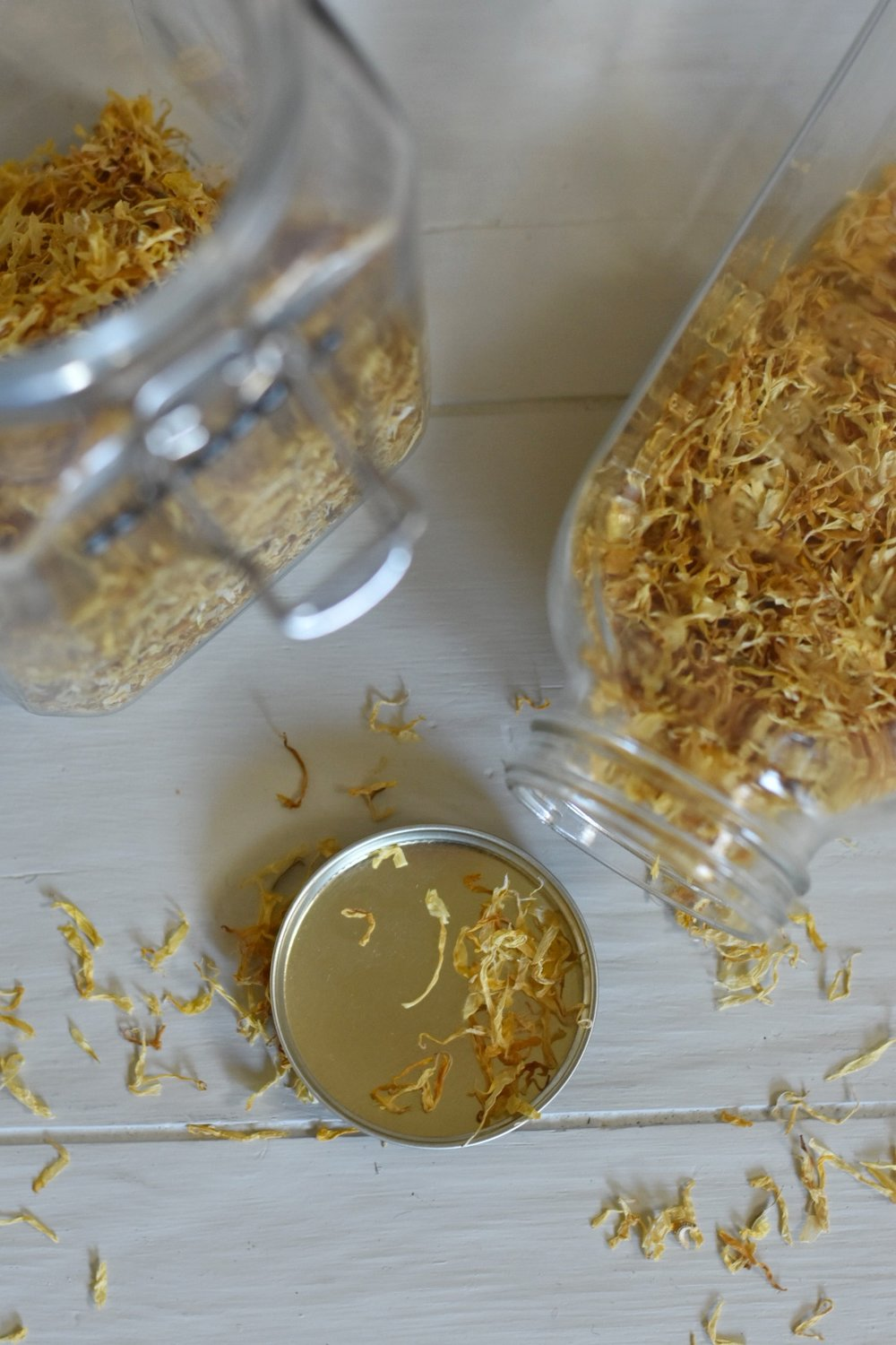 Infused Calendula Oil