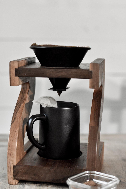 Pour Over Spiced Vanilla Chai Coffee Recipe | Rocky Hedge Farm