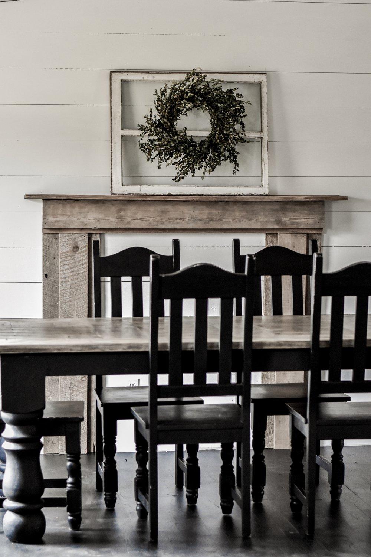 How to decorate a rustic farmhouse mantel | Rocky Hedge Farm