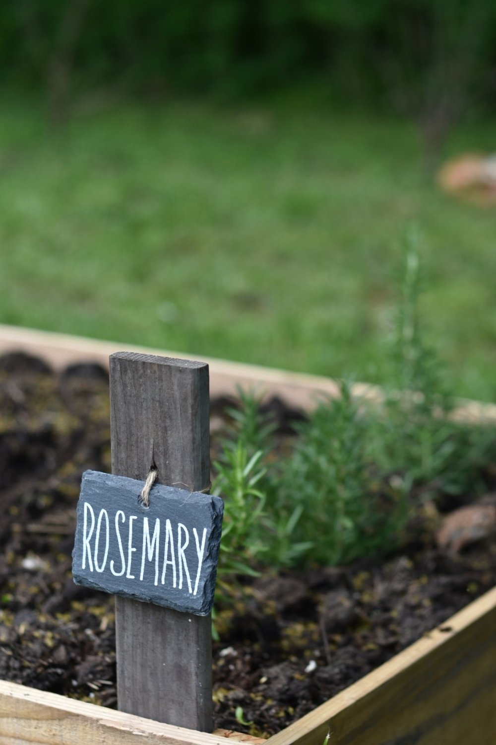 Herb Garden Markers Labels for the Vegetable Herb Garden. | Rocky Hedge Farm