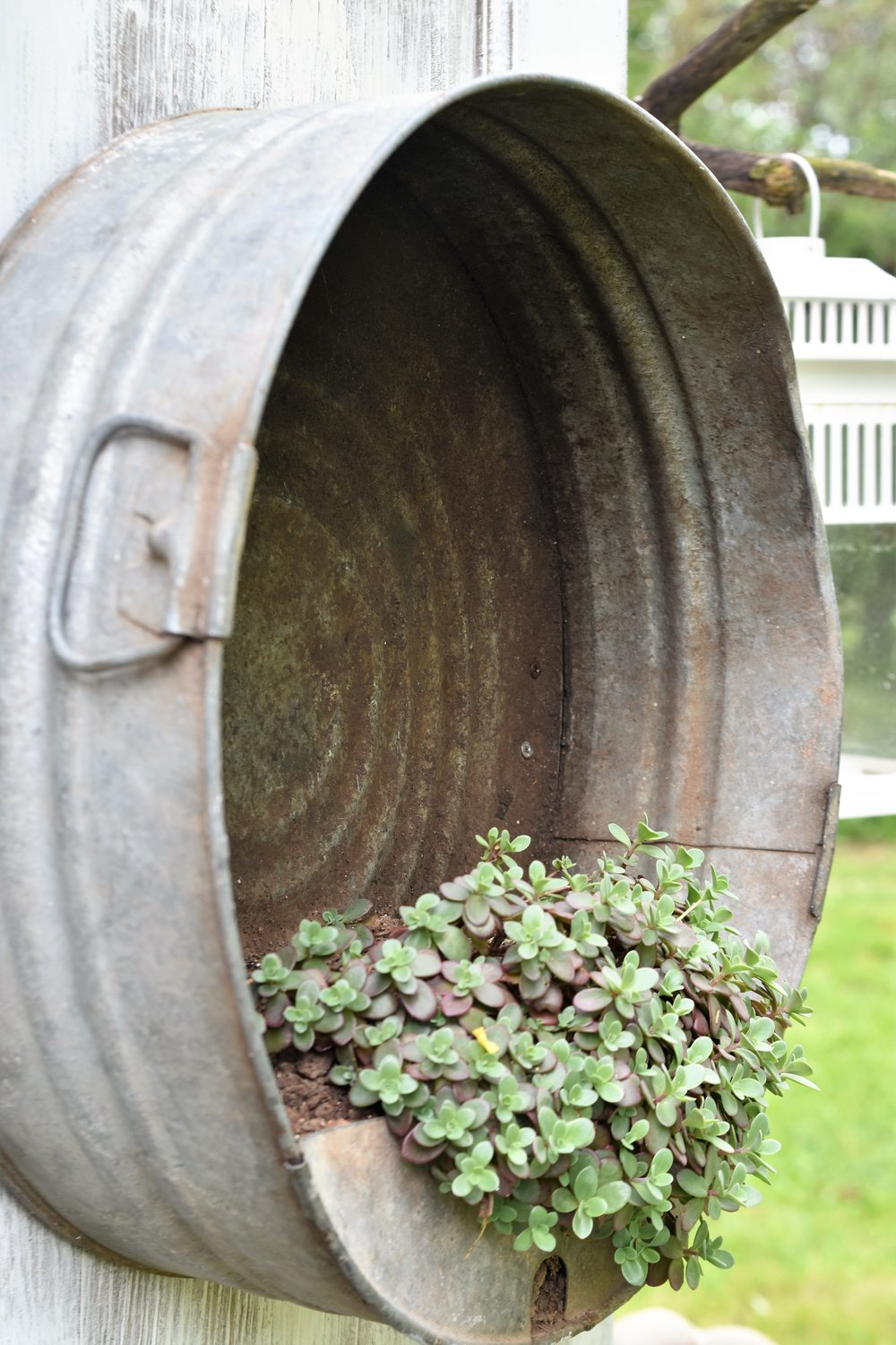 Galvanized Garden Planter | Rocky Hedge Farm