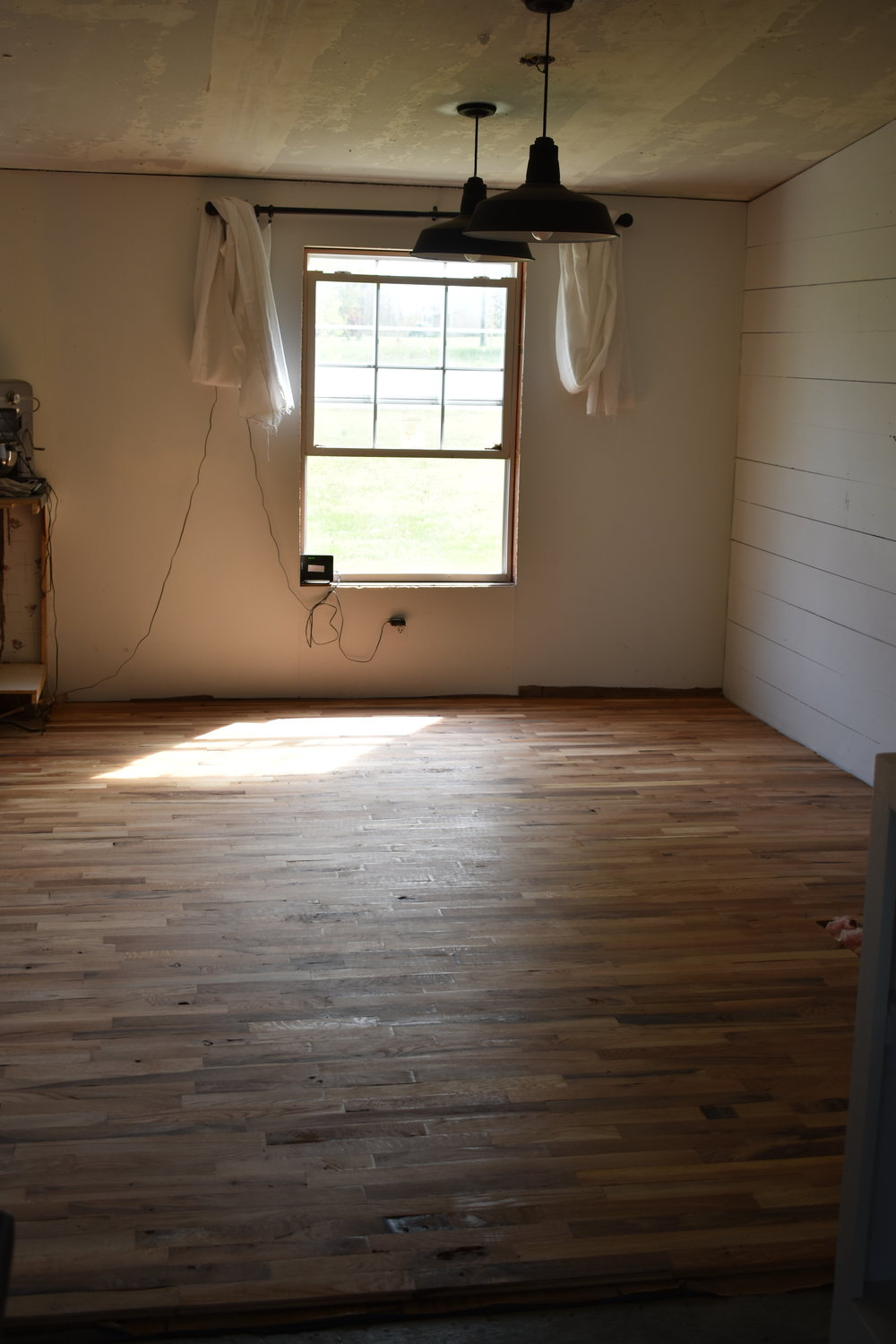 Remodeling a Double Wide Mobile Home on a Budget and Putting in Hardwood Floors | Rocky Hedge Farm