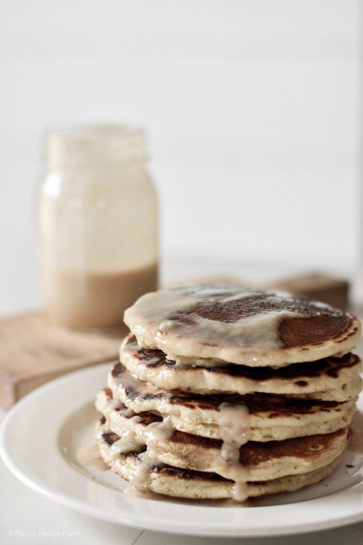 Fluffy Overnight Sourdough Pancakes   Rocky Hedge Farm
