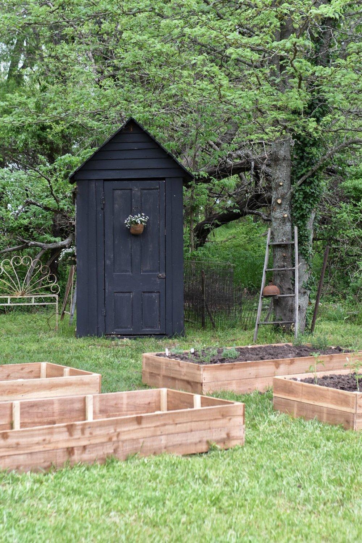 DIY Raised Garden Beds  2019 Homestead Goals Garden Shed   Rocky Hedge Farm