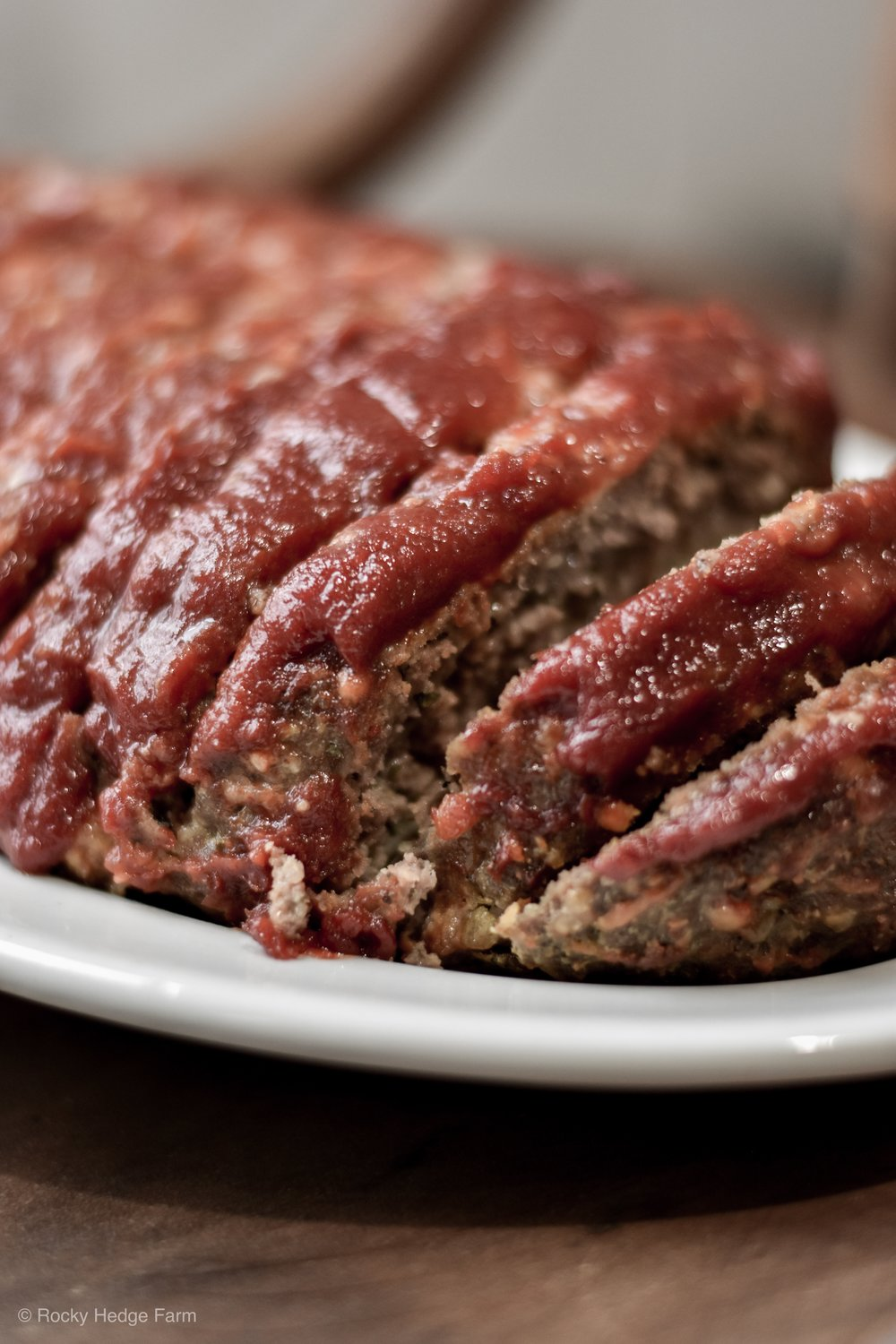 A quick and easy weeknight meal recipe for meatloaf. The best healthy herb and cheese meatloaf. Low-Carb, Sugar-Free | Rocky Hedge Farm