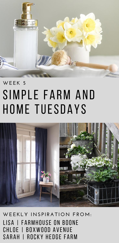 Simple Farm and Home Tuesdays | Rocky Hedge Farm