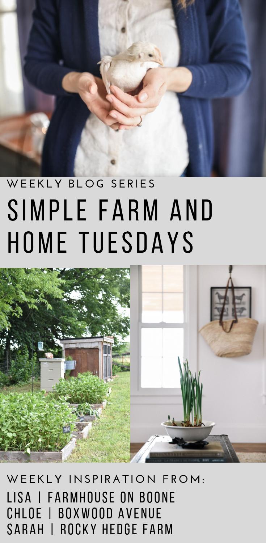 Simple Farm and Home Tuesday | Rocky Hedge Farm