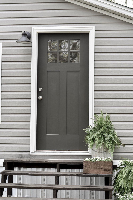 Double Wide Mobile Home Exterior Color Scheme  | Rocky Hedge Farm