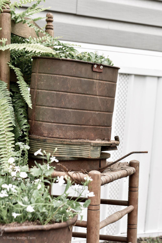 Antique Garden Seed Planter | Rocky Hedge Farm
