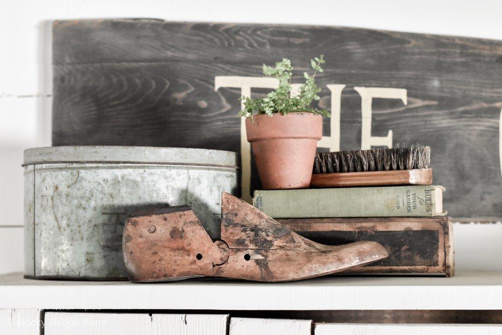 Antique Vintage Wooden Shoe Mold