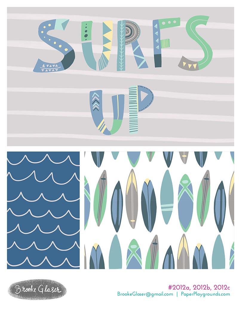 Brooke-Glaser-Illustration-Paper-Playgrounds-Surfers-Up-Collection-2012a-2012b-2012c.jpg