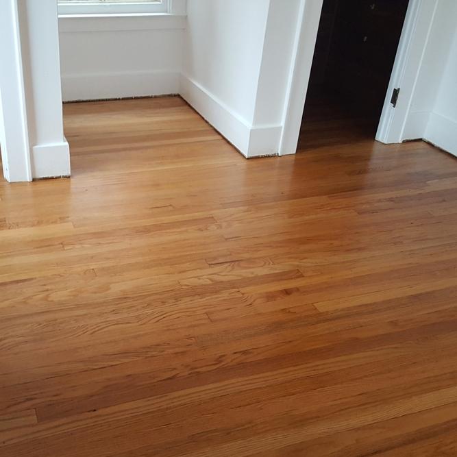 Bedroom floors after