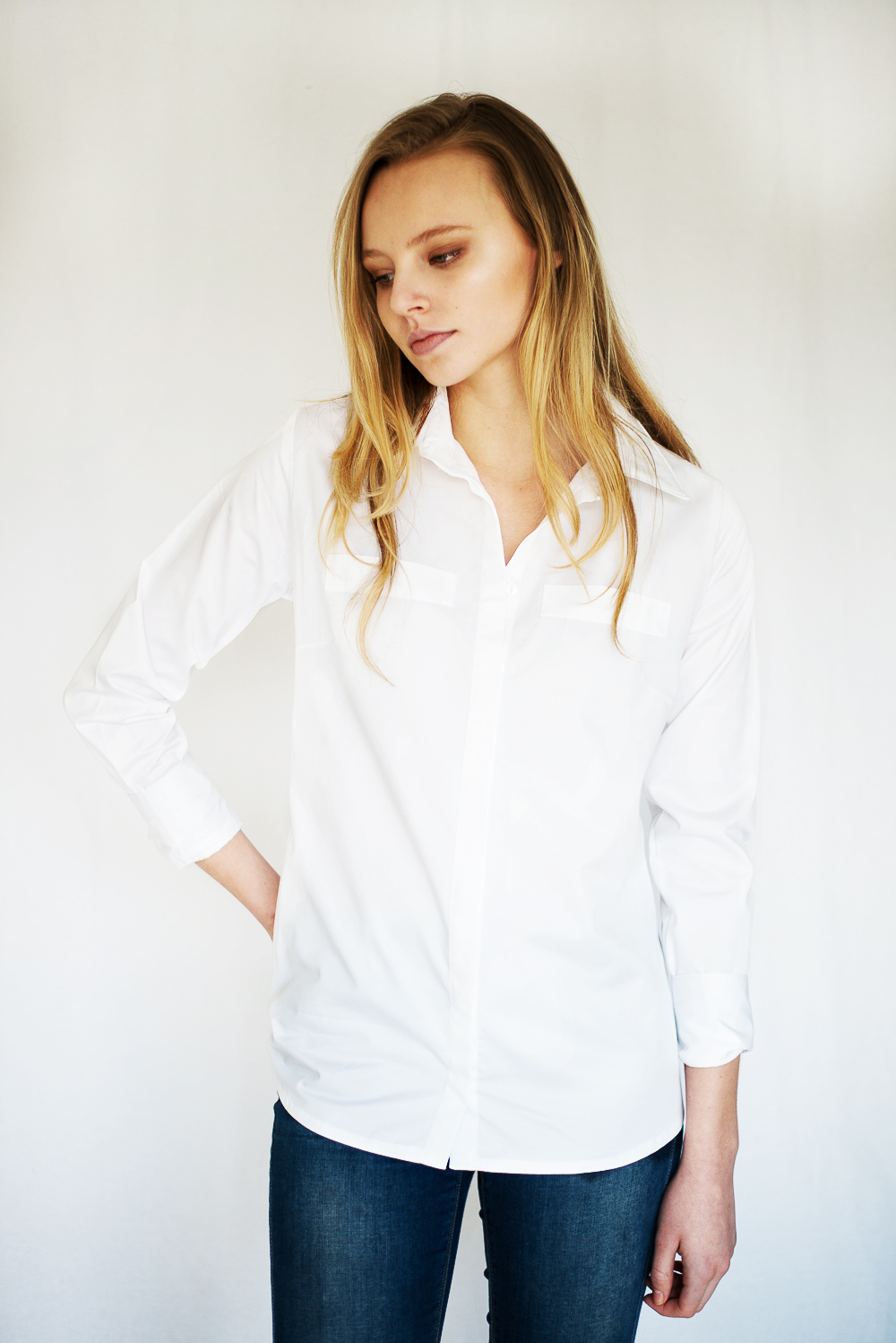 Tom Lane SS'16 White Shirts Lookbook
