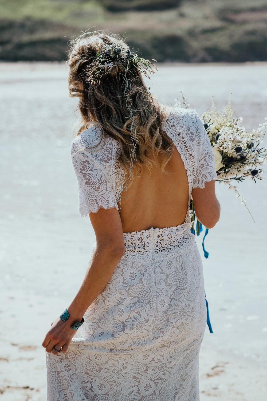 cornwall bridal hair and make-up
