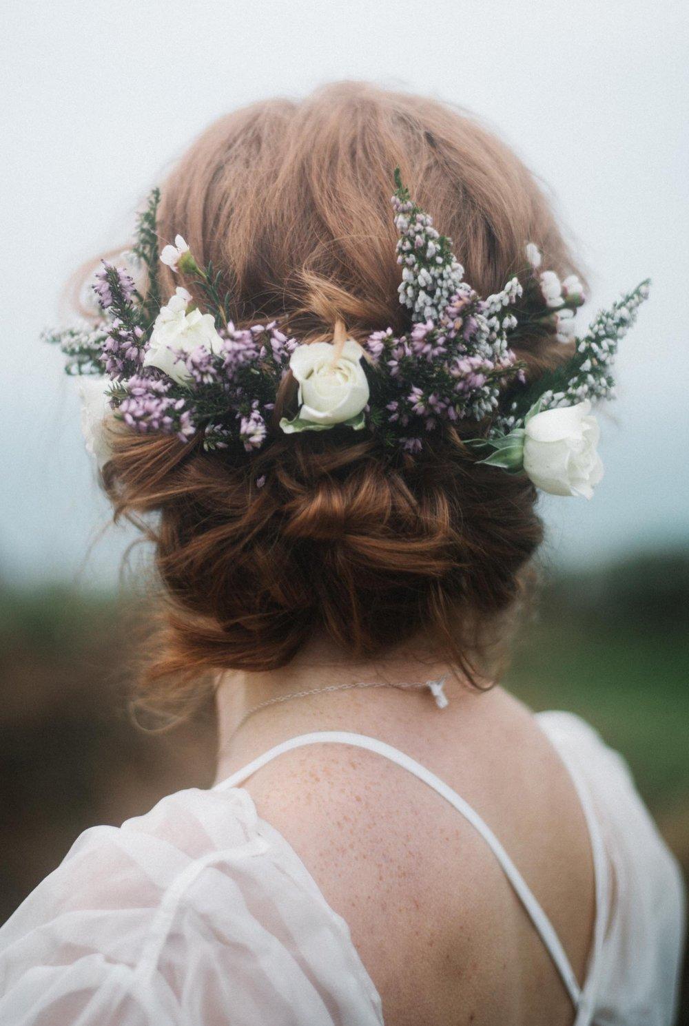 zennor wedding hair