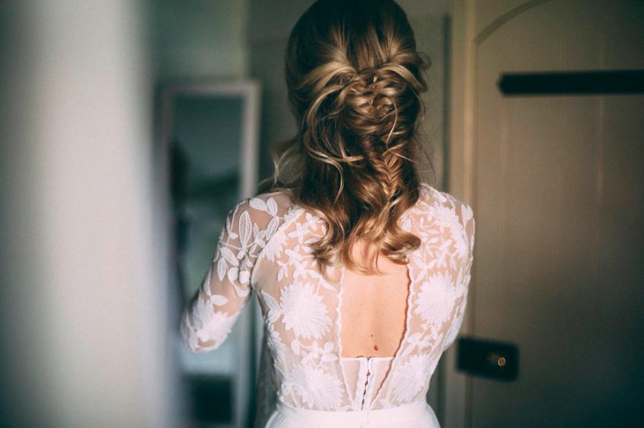 bridal plaits