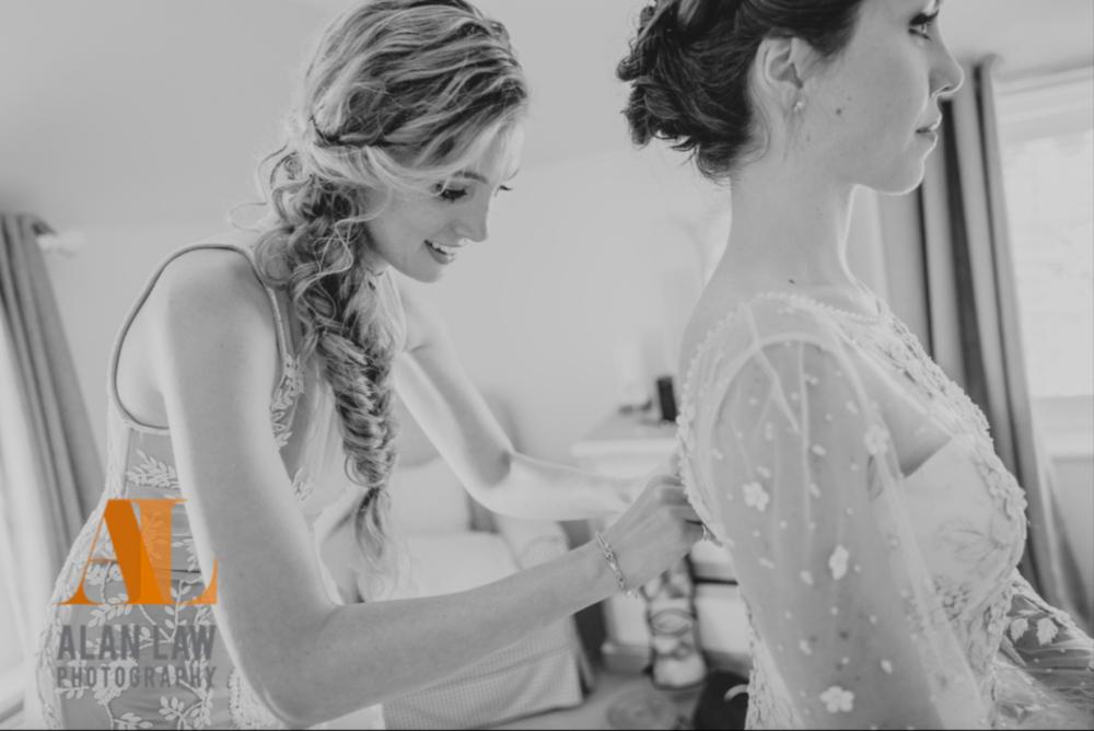 wedding hair and makeup-up cornwall