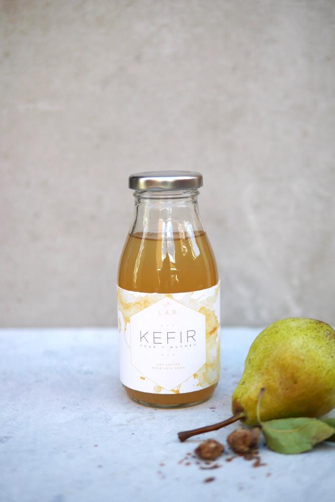 Pear + Nutmeg Kefir