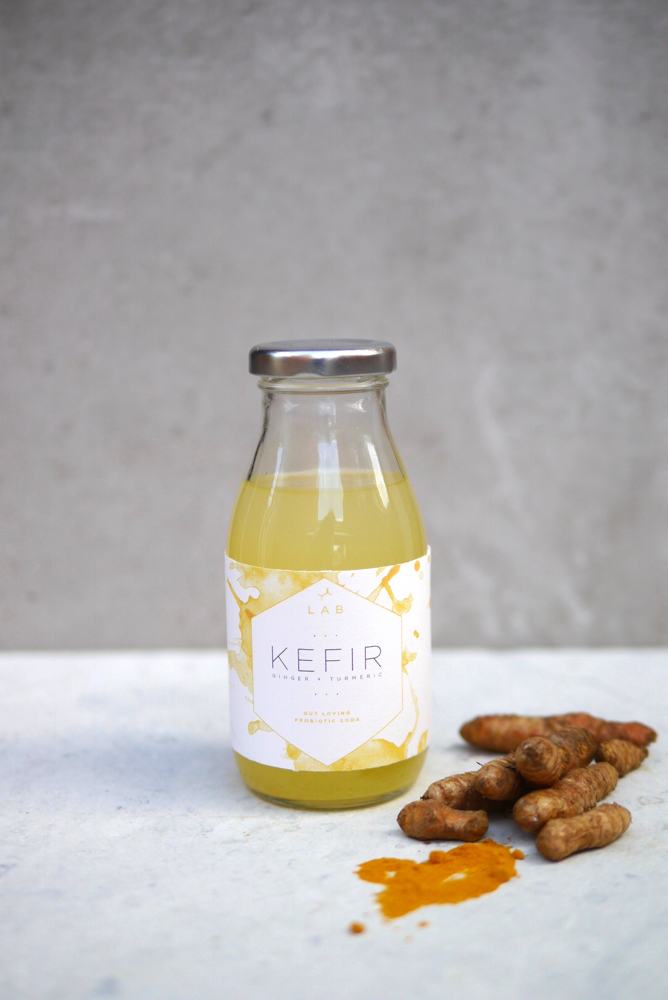 Ginger + Turmeric Kefir