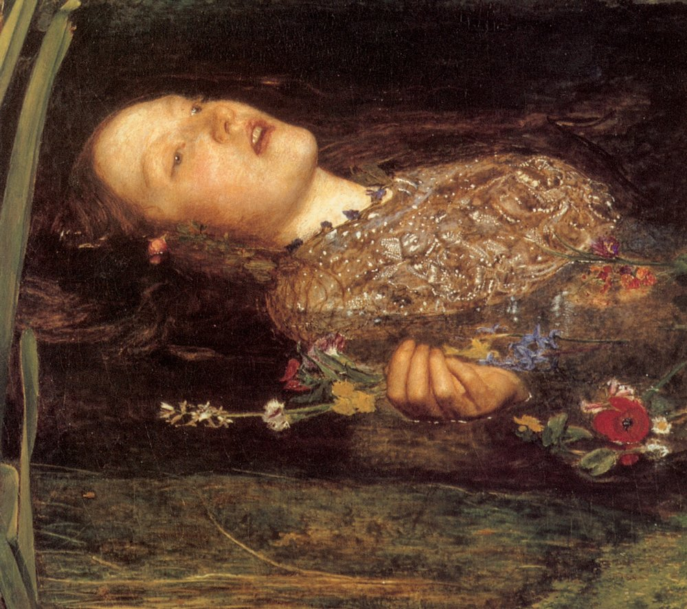 My dear Ophelia on the occasion of her departure