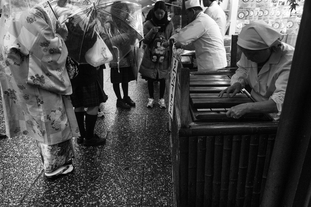 Japan street vendor