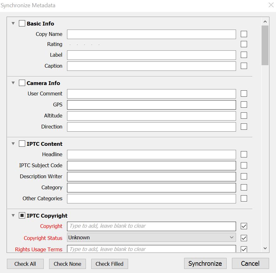 Metadata Sync