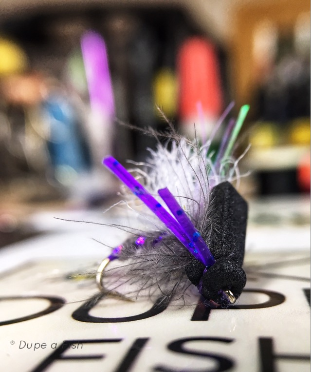 The Fuzzy Navel fly pattern by Christian Bacasa