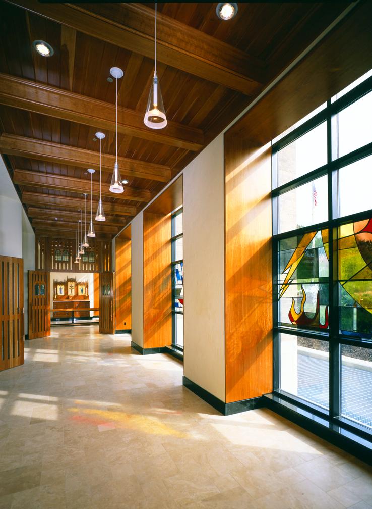 Cincinnati Childrenu0027s Hospital Healthcare Institutional Stained Glass Interior  Design