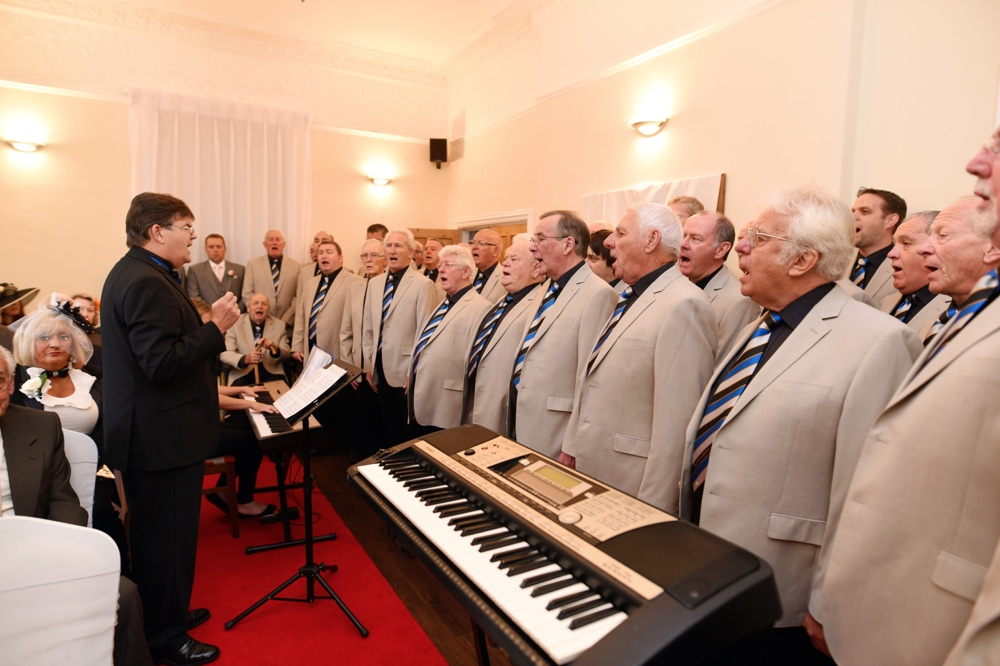 wedding male voice choir